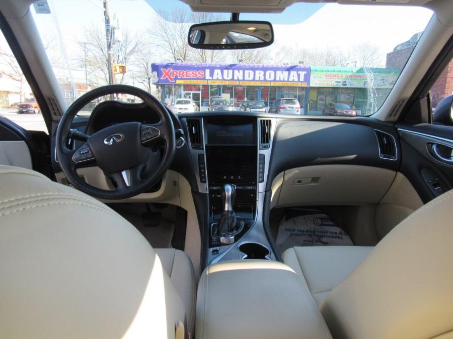 Used INFINITI Q50 4dr Sdn Premium AWD 2015   Deals on Wheels International Auto. Levittown, Pennsylvania