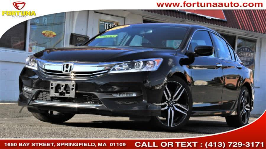 Used Honda Accord Sedan 4dr I4 CVT Sport 2016   Fortuna Auto Sales Inc.. Springfield, Massachusetts