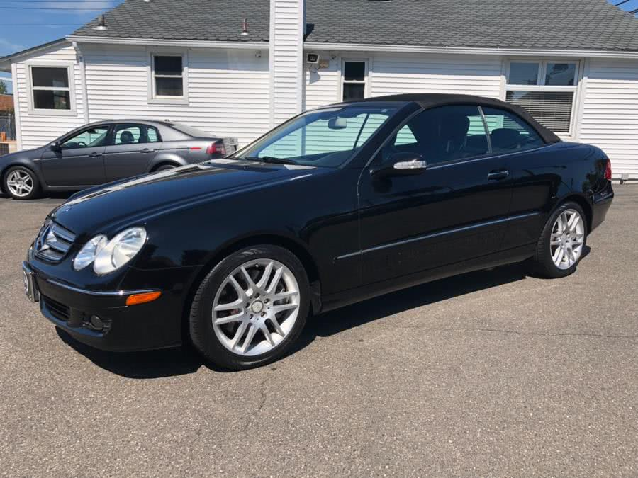 2008 Mercedes-Benz CLK-Class 2dr Cabriolet 3.5L, available for sale in Milford, CT