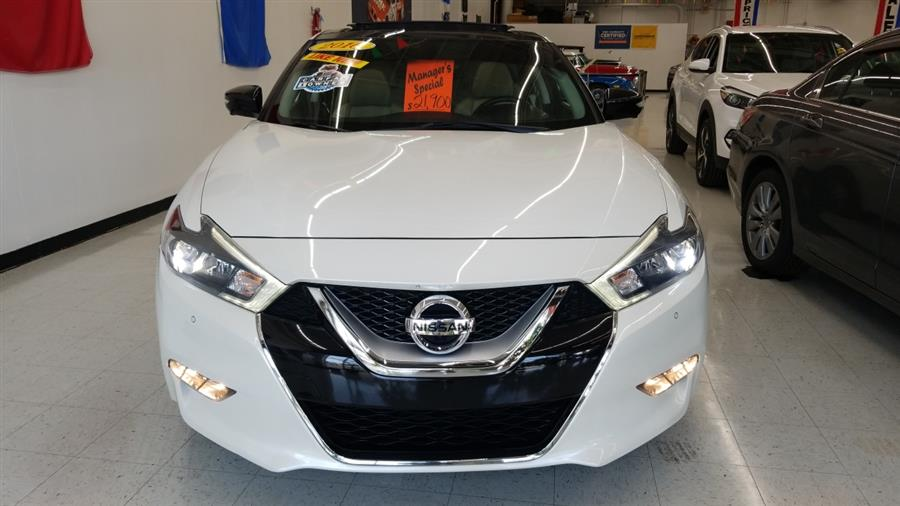 2016 Nissan Maxima 4dr Sdn 3.5 Platinum, available for sale in West Haven, CT