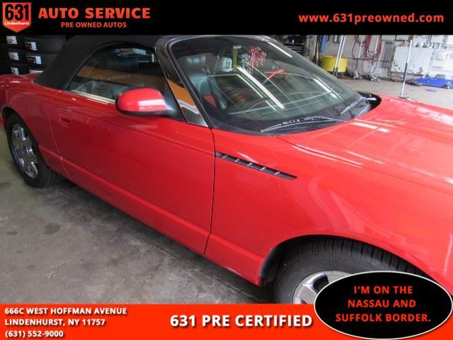 Used Ford Thunderbird 2dr Convertible Premium 2002 | 631 Auto Service. Lindenhurst, New York
