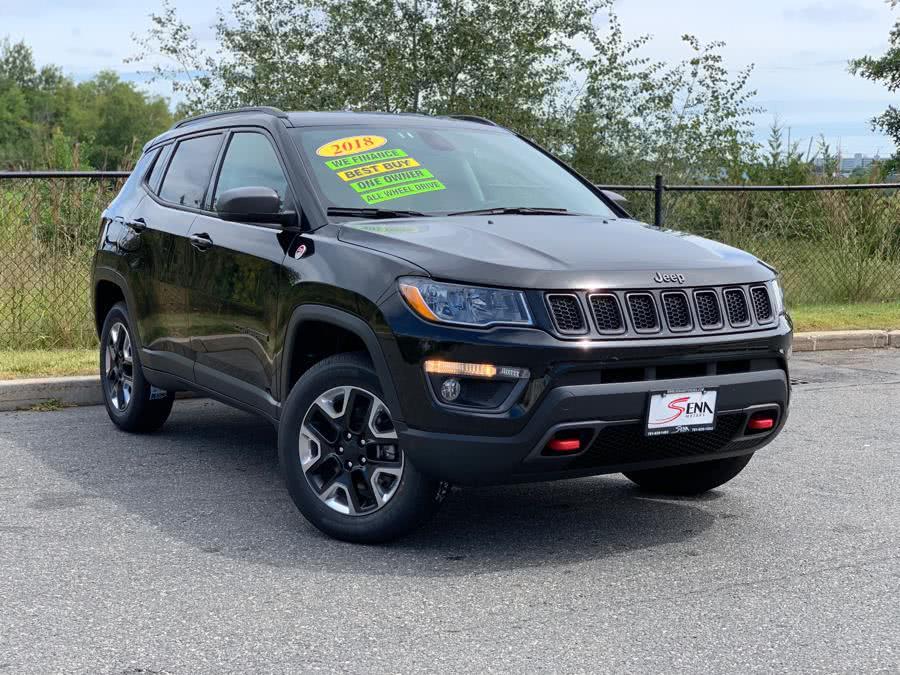 Used Jeep Compass Trailhawk 4x4 2018   Sena Motors Inc. Revere, Massachusetts
