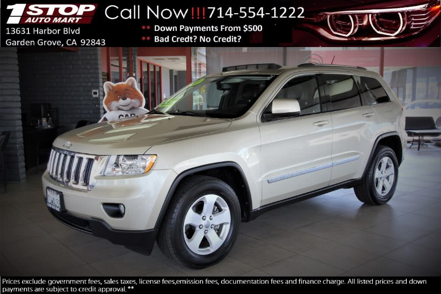 Used Jeep Grand Cherokee RWD 4dr Laredo 2011 | 1 Stop Auto Mart Inc.. Garden Grove, California