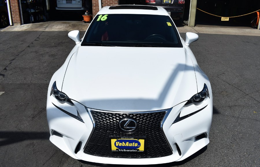 Used Lexus IS 300 F sport 4dr Sdn AWD 2016 | VEB Auto Sales. Hartford, Connecticut