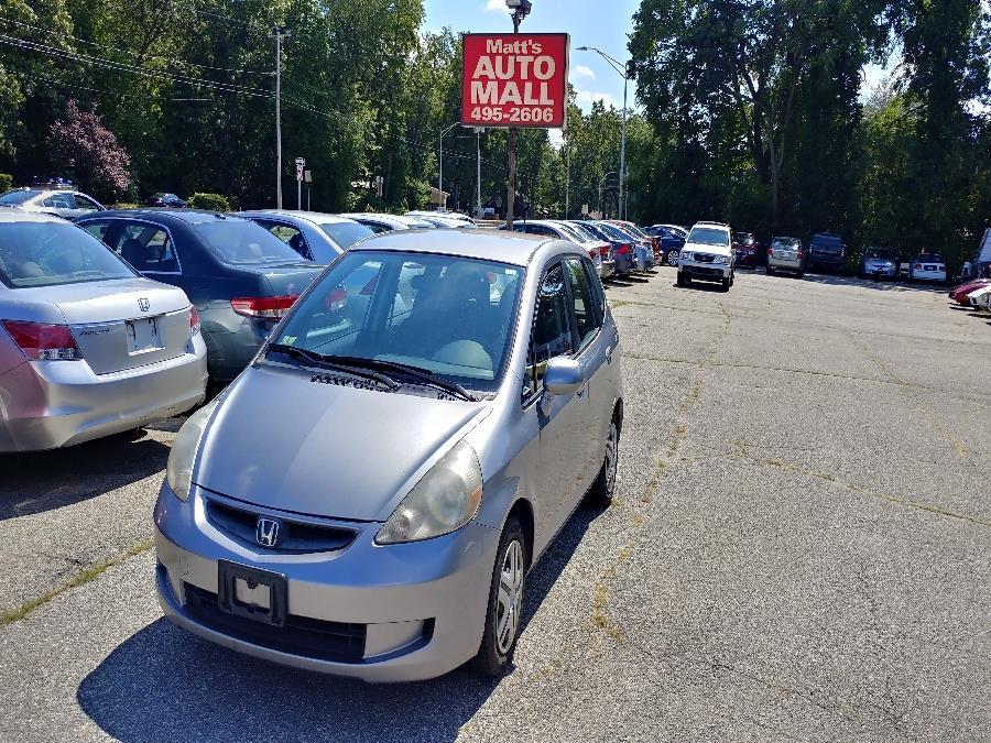 Used Honda Fit 5dr HB Auto 2008 | Matts Auto Mall LLC. Chicopee, Massachusetts