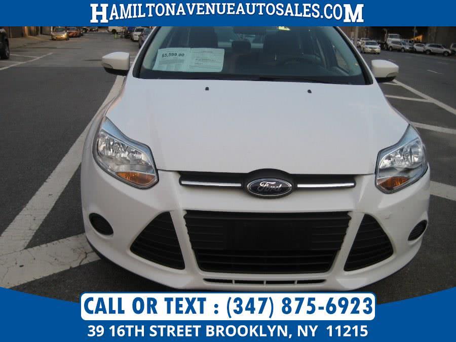 Used Ford Focus 4dr Sdn SE 2014 | Hamilton Avenue Auto Sales DBA Nyautoauction.com. Brooklyn, New York