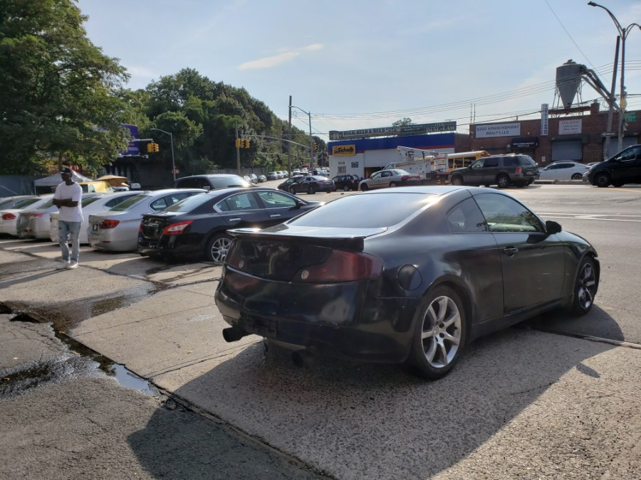 Used Infiniti G35 Coupe 2dr Cpe Auto w/Leather 2003 | Rubber Bros Auto World. Brooklyn, New York