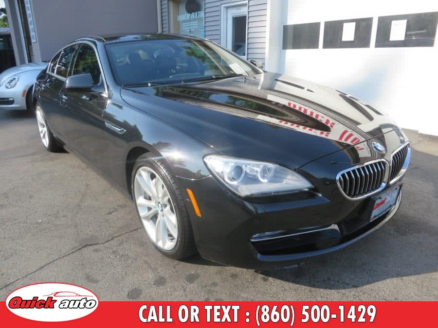 2014 BMW 6 Series 4dr Sdn 640i xDrive AWD Gran Coupe, available for sale in Bristol, CT