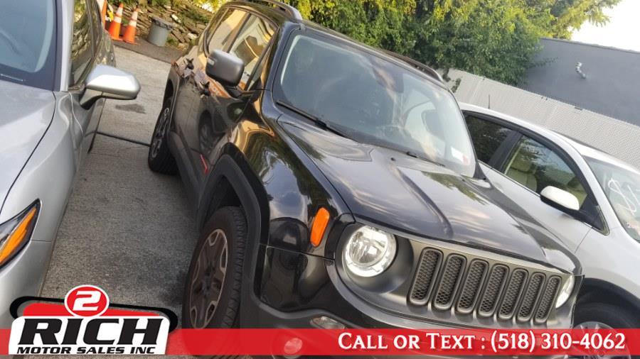 Used Jeep Renegade 4WD 4dr Trailhawk 2015 | 2 Rich Motor Sales Inc. Bronx, New York