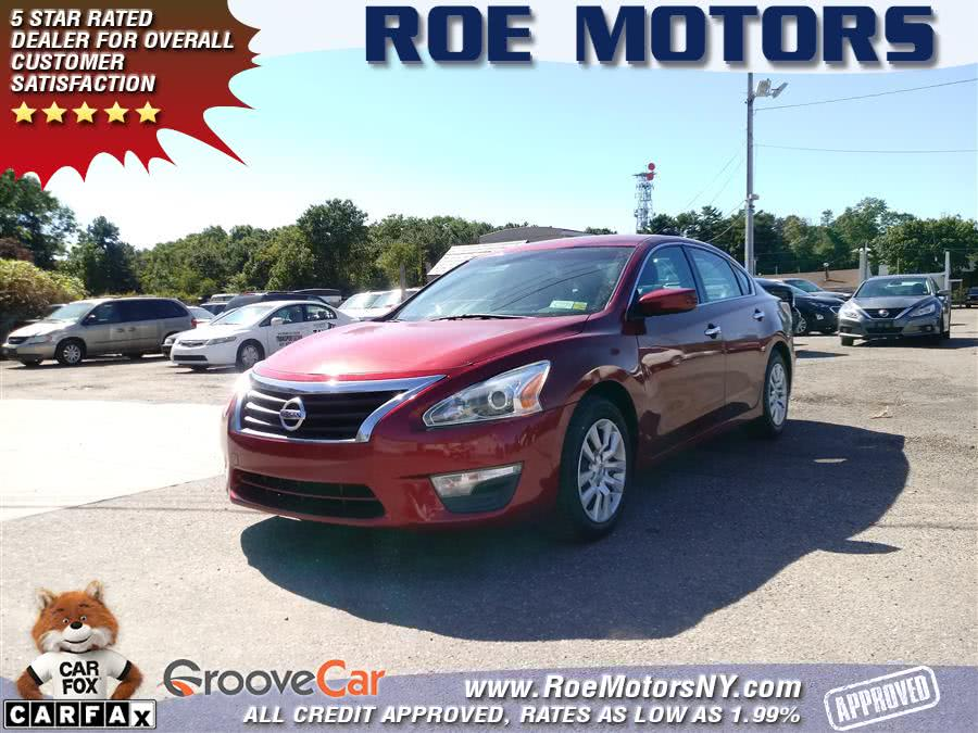 Used 2015 Nissan Altima in Shirley, New York | Roe Motors Ltd. Shirley, New York