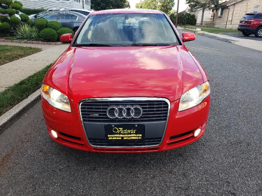 Used Audi A4 2007 4dr Sdn Auto 2.0T quattro 2007 | Victoria Preowned Autos Inc. Little Ferry, New Jersey