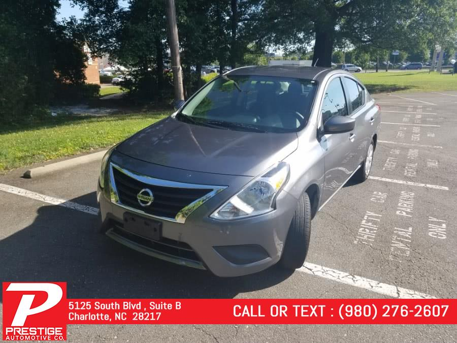 Used 2019 Nissan Versa Sedan in Charlotte, North Carolina | Prestige Automotive Companies. Charlotte, North Carolina