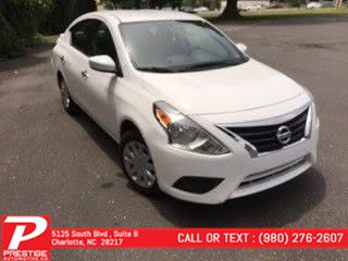 Used 2018 Nissan Versa Sedan in Charlotte, North Carolina | Prestige Automotive Companies. Charlotte, North Carolina