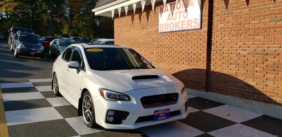 Used Subaru WRX STI 4dr Sdn Limited 2016   National Auto Brokers, Inc.. Waterbury, Connecticut