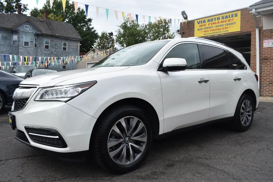 Used Acura MDX SH-AWD 4dr Tech Pkg 2014 | VEB Auto Sales. Hartford, Connecticut