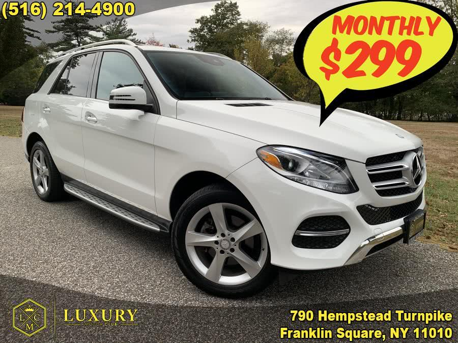 2016 Mercedes-Benz GLE-Class 4MATIC 4dr GLE 350, available for sale in Franklin Square, NY