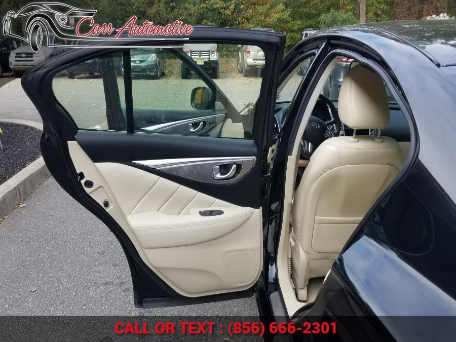 Used INFINITI Q50 3.0t Premium AWD 2017 | Carr Automotive. Delran, New Jersey