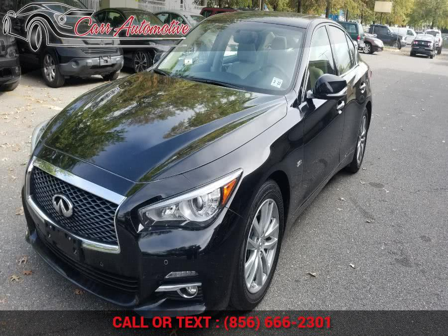 Used INFINITI Q50 3.0t Premium AWD 2017 | Carr Automotive. Delran, New Jersey