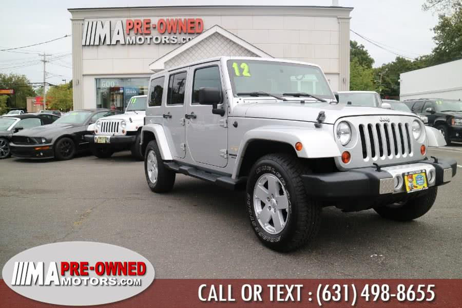Used 2012 Jeep Wrangler Unlimited in Huntington, New York | M & A Motors. Huntington, New York