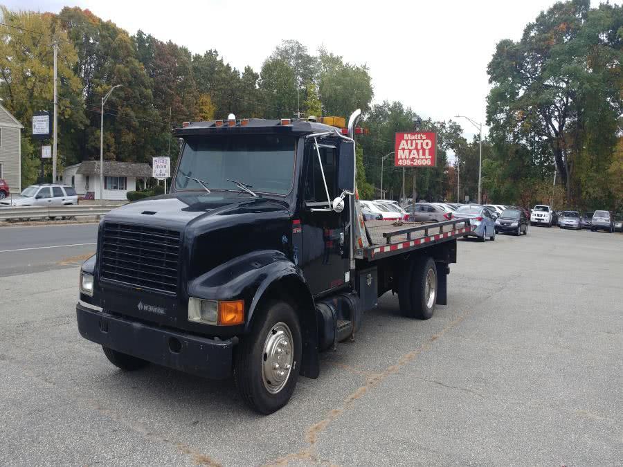 Used International s1600 Flatbed tow truck 1986 | Matts Auto Mall LLC. Chicopee, Massachusetts