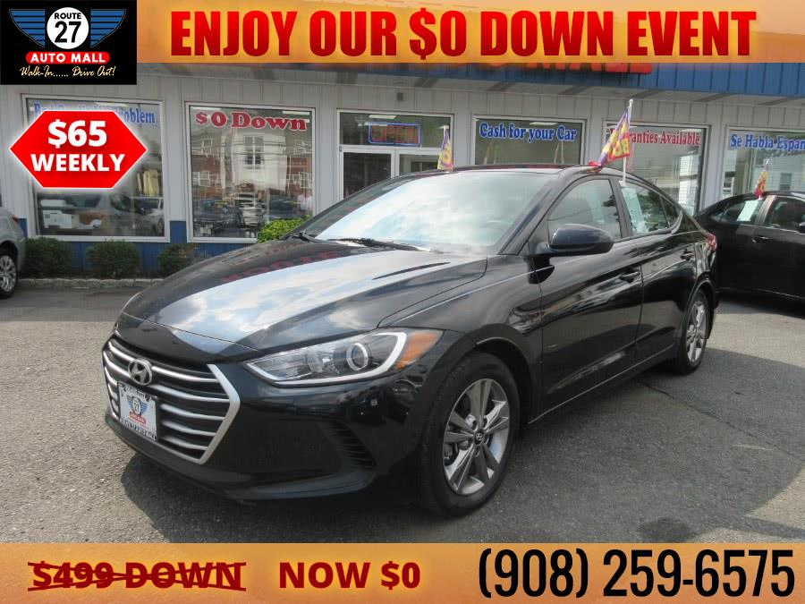 Used Hyundai Elantra SE 2.0L Auto PZEV (Ulsan) *Ltd Avail* 2017 | Route 27 Auto Mall. Linden, New Jersey