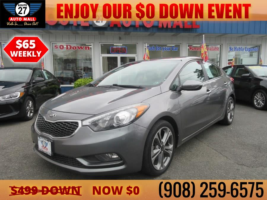 Used Kia Forte 4dr Sdn Auto EX 2016 | Route 27 Auto Mall. Linden, New Jersey