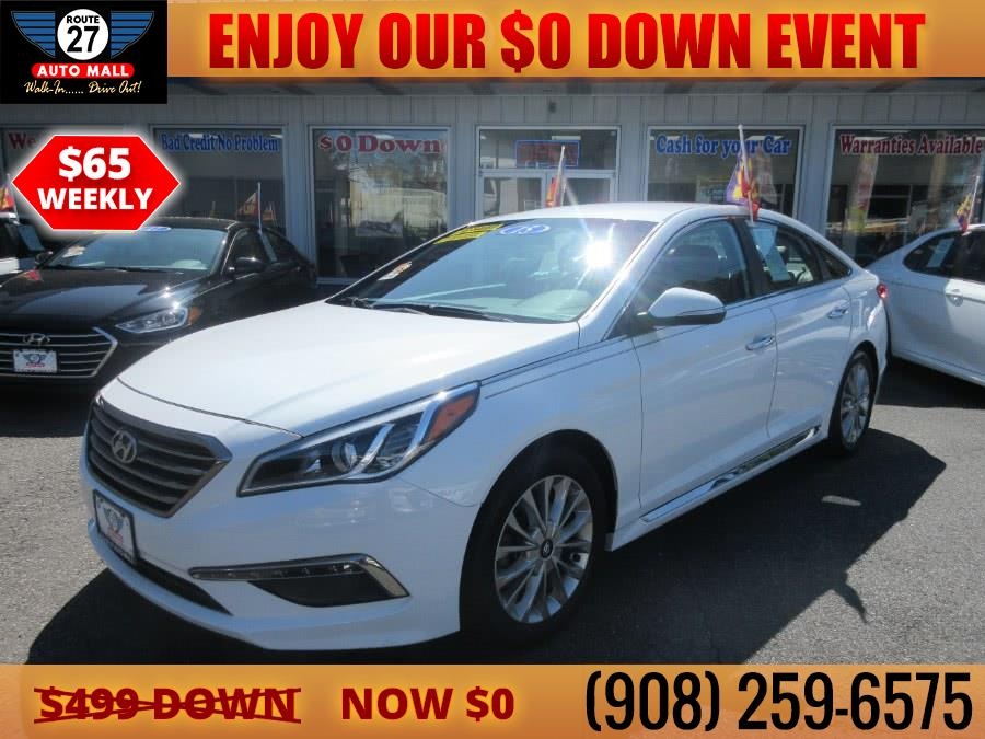 Used 2015 Hyundai Sonata in Linden, New Jersey | Route 27 Auto Mall. Linden, New Jersey