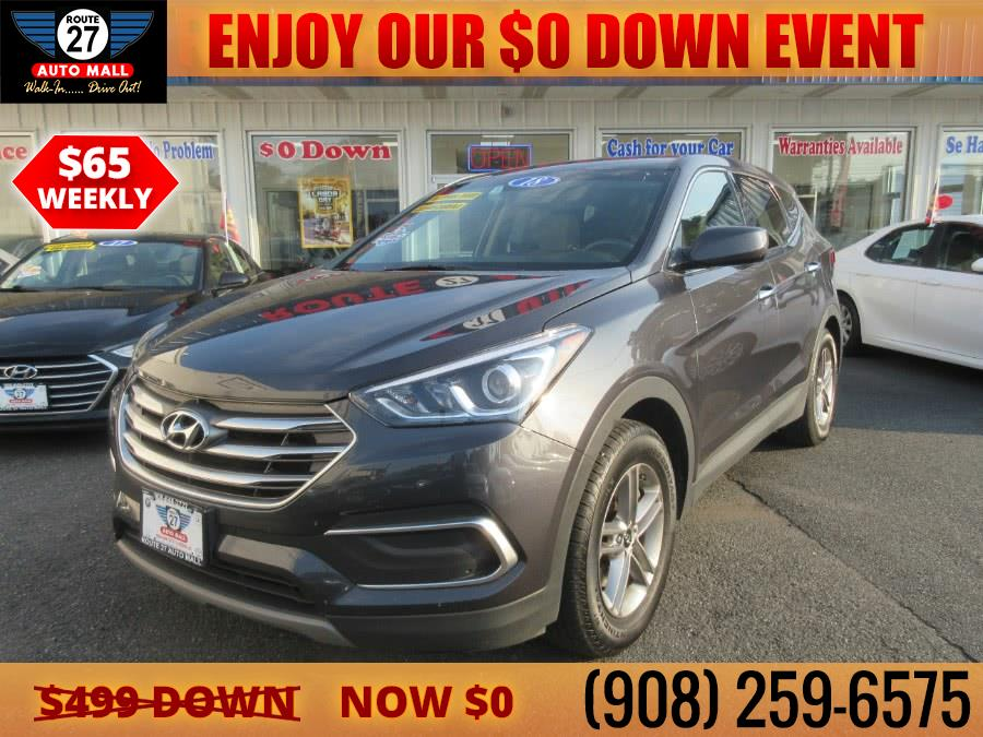 Used 2018 Hyundai Santa Fe Sport in Linden, New Jersey | Route 27 Auto Mall. Linden, New Jersey
