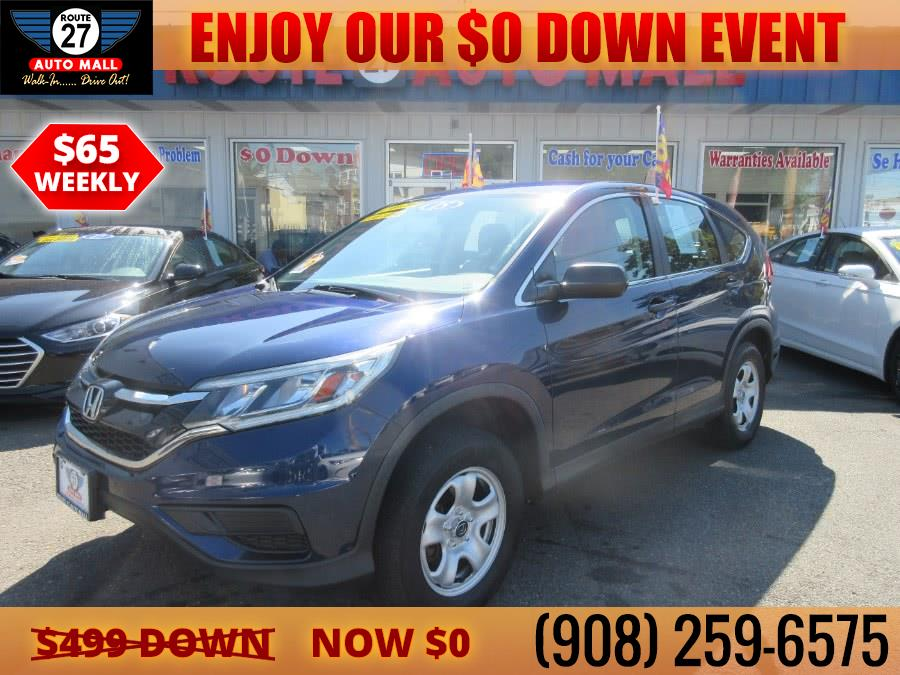 Used 2015 Honda CR-V in Linden, New Jersey | Route 27 Auto Mall. Linden, New Jersey
