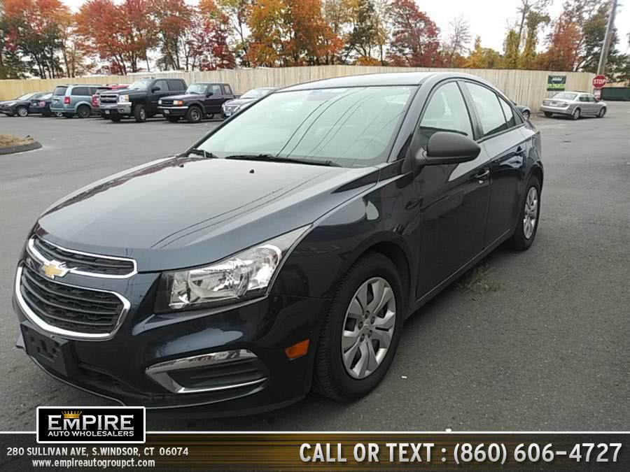 Used 2016 Chevrolet Cruze in S.Windsor, Connecticut | Empire Auto Wholesalers. S.Windsor, Connecticut