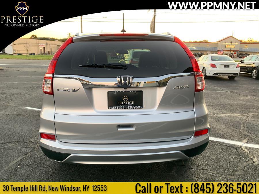 Used Honda CR-V AWD 5dr EX-L 2015   Prestige Pre-Owned Motors Inc. New Windsor, New York