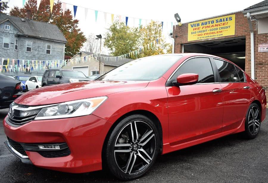 Used Honda Accord Sedan Sport SE CVT 2017 | VEB Auto Sales. Hartford, Connecticut