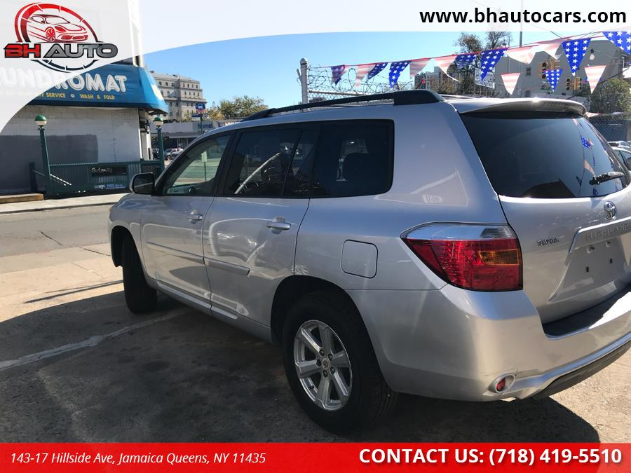 Used Toyota Highlander 4WD 4dr Base 2008   BH Auto. Jamaica Queens, New York
