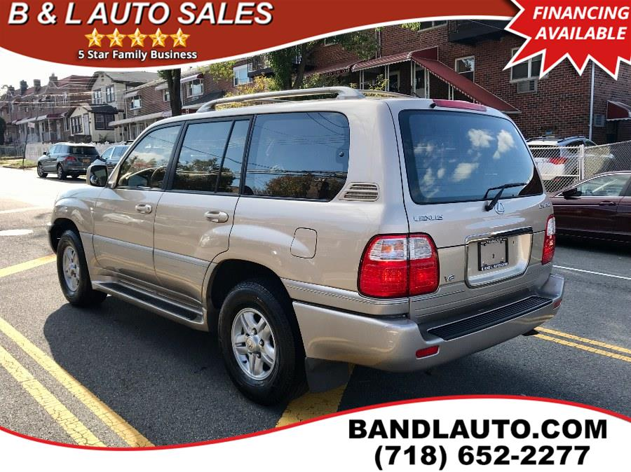 Used Lexus LX 470 4dr SUV 2002 | B & L Auto Sales LLC. Bronx, New York