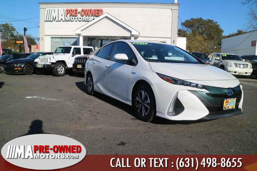 Used Toyota Prius Prime PLUG IN Plus  PLUG IN 2017 | M & A Motors. Huntington, New York