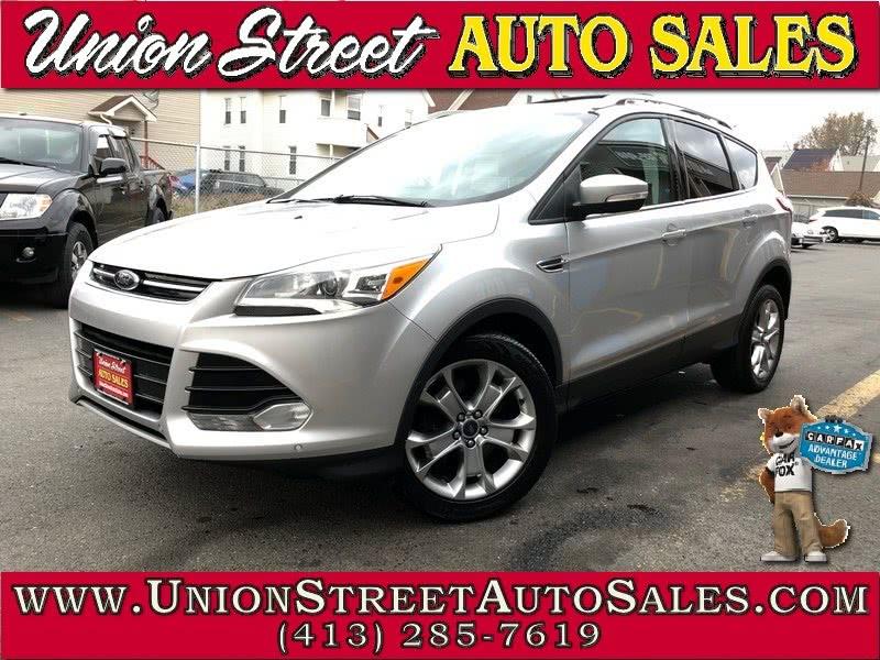 Used Ford Escape 4WD 4dr Titanium 2014 | Union Street Auto Sales. West Springfield, Massachusetts