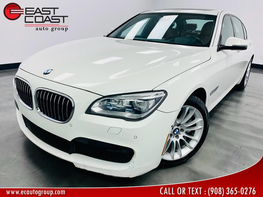 2015 BMW 7 Series 4dr Sdn 750Li xDrive AWD, available for sale in Linden, NJ
