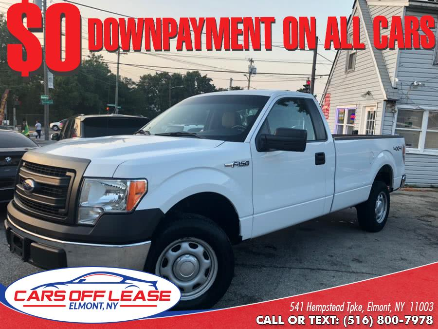 """Used Ford F-150 4WD Reg Cab 126"""" XLT 2014 