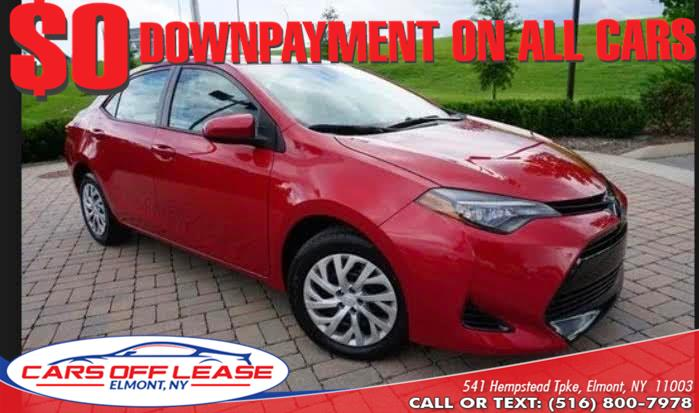 Used Toyota Corolla LE CVT Automatic (Natl) 2017 | Cars Off Lease . Elmont, New York
