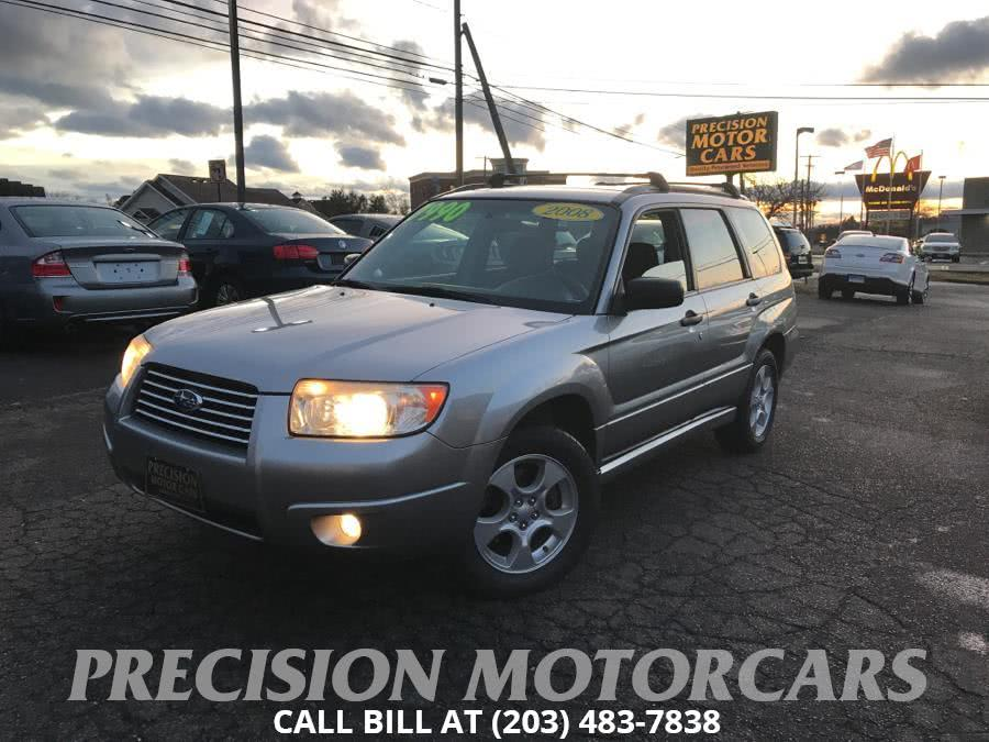 Used Subaru Forester 4dr Auto X PZEV 2008 | Precision Motor Cars LLC. Branford, Connecticut