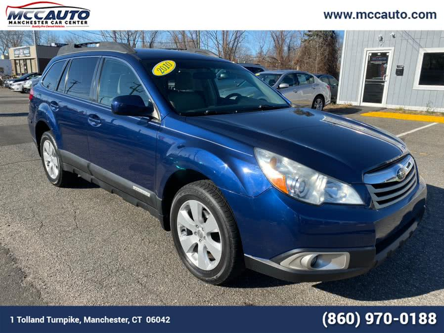 2010 Subaru Outback 4dr Wgn H4 Auto 2.5i Premium All-Weather, available for sale in Manchester, CT