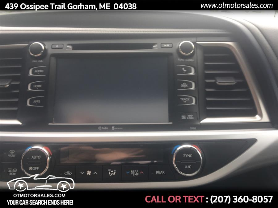 Used Toyota Highlander AWD 4dr V6 XLE (Natl) 2015 | Ossipee Trail Motor Sales. Gorham, Maine