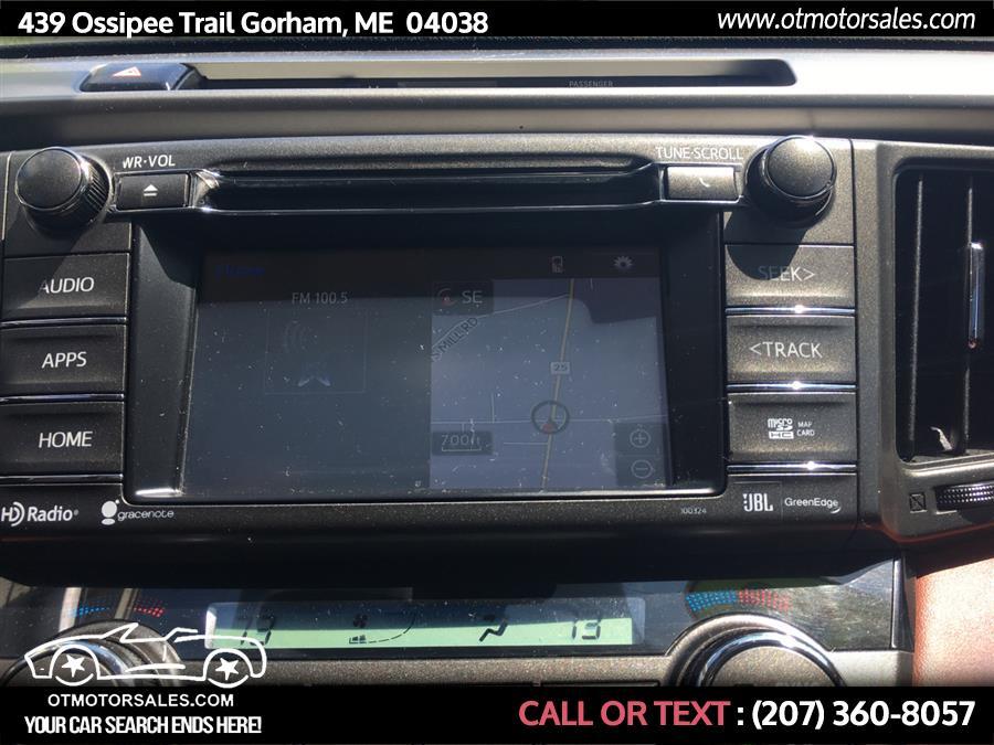 Used Toyota RAV4 AWD 4dr Limited (Natl) 2015   Ossipee Trail Motor Sales. Gorham, Maine
