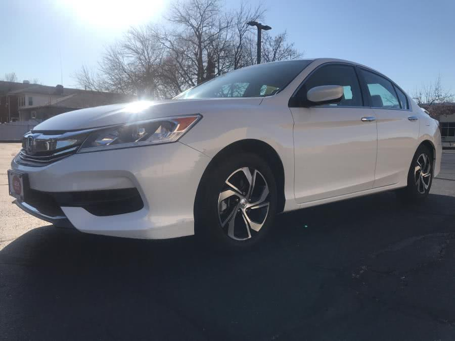 Used Honda Accord Sedan LX CVT 2017 | Lex Autos LLC. Hartford, Connecticut