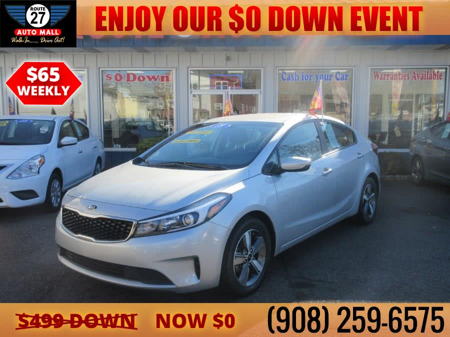 Used 2018 Kia Forte in Linden, New Jersey | Route 27 Auto Mall. Linden, New Jersey