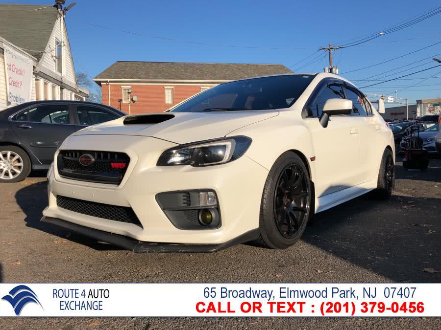 Used Subaru WRX 4dr Sdn Man 2015 | Route 4 Auto Exchange. Elmwood Park, New Jersey