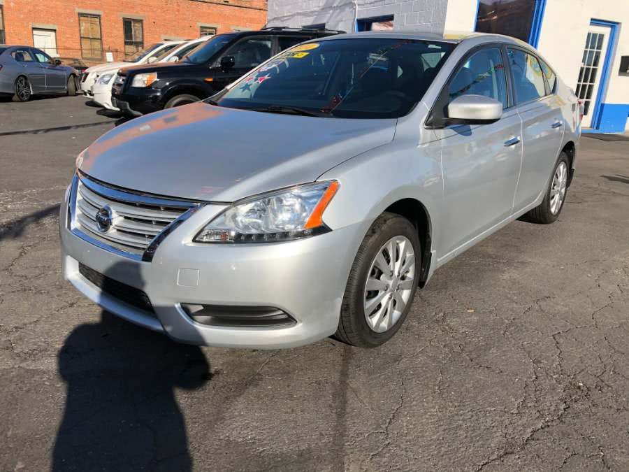 Used Nissan Sentra 4dr Sdn I4 CVT SV 2014 | Affordable Motors Inc. Bridgeport, Connecticut
