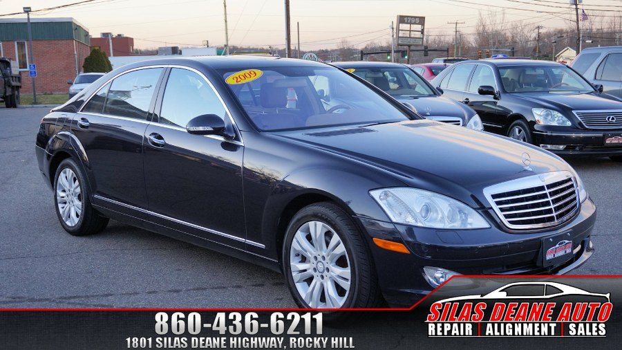 Used Mercedes-Benz S-Class 4dr Sdn 5.5L V8 4MATIC 2009   Silas Deane Auto LLC. Rocky Hill , Connecticut