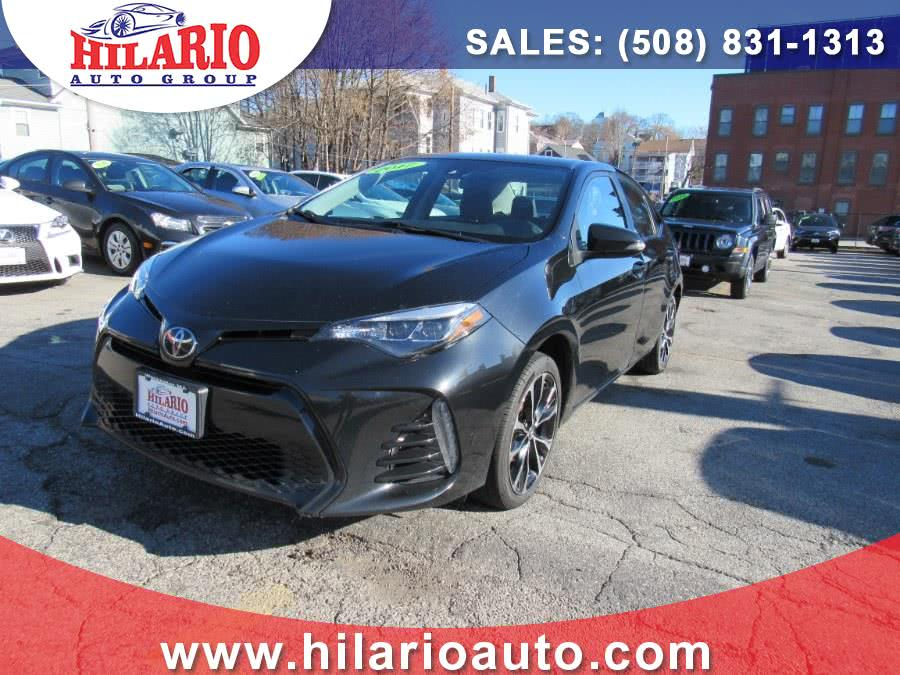 Used Toyota Corolla SE CVT (Natl) 2017   Hilario's Auto Sales Inc.. Worcester, Massachusetts