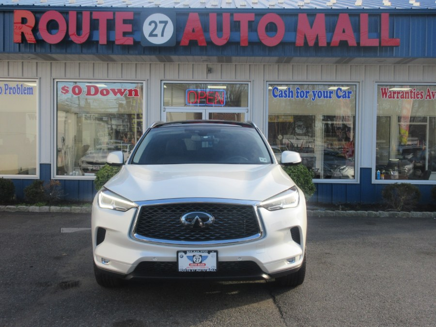 Used INFINITI QX50 ESSENTIAL AWD 2019 | Route 27 Auto Mall. Linden, New Jersey